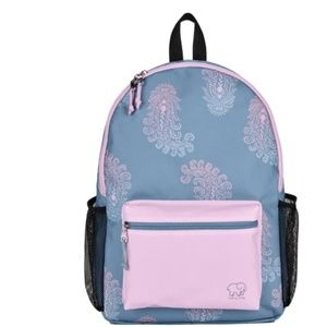 New Ivory Ella Paisley Backpack